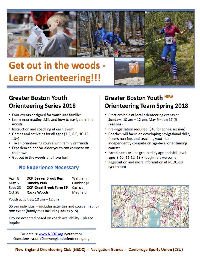 2018 Youth Series flyer